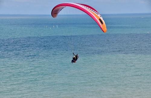 Paragliden Israël reis