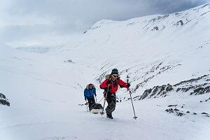 Poolexpeditie in Spitsbergen