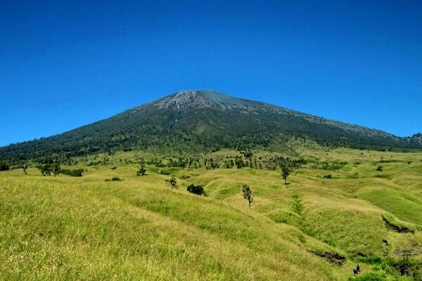 Rinjani vulkaan trekking
