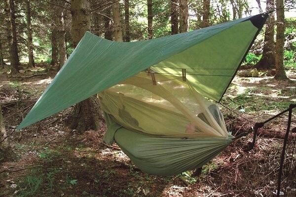 Slapen in een Hangmat Suriname