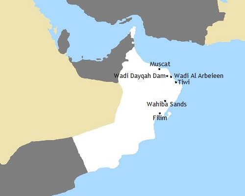 Kaartje Self-drive Oman