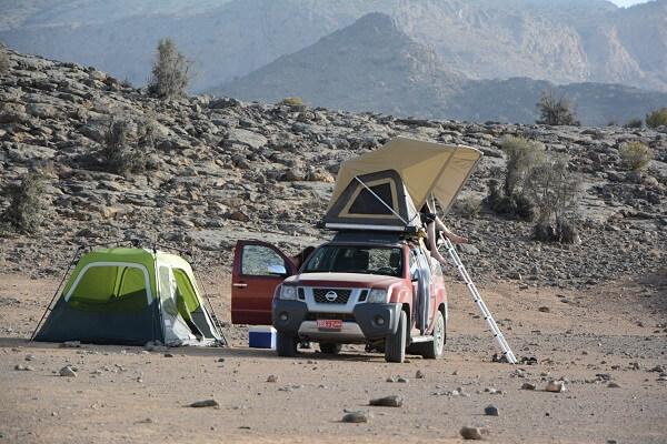 Kamperen Oman