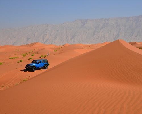 Overnachten Oman Woestijn