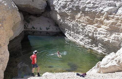 Zwemmen in een Poeltje