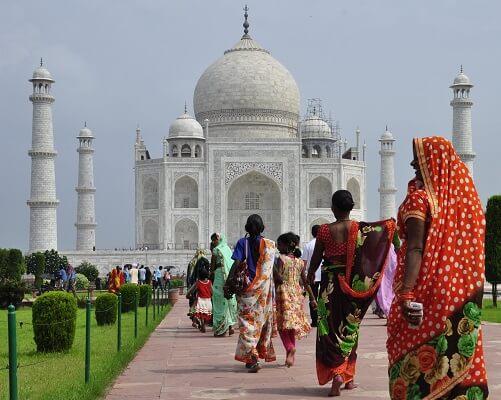 Taj Mahal bezoeken